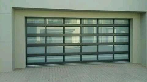 Garage door picture