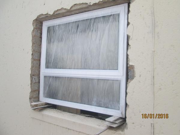 Bathroom casement window picture
