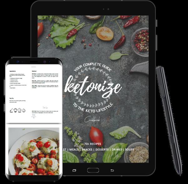 Ketonize cookbook (ebook 167pg) picture