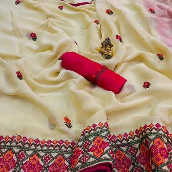 Crepe silk picture