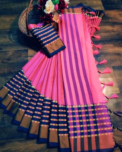 Saira  - cotton silk picture