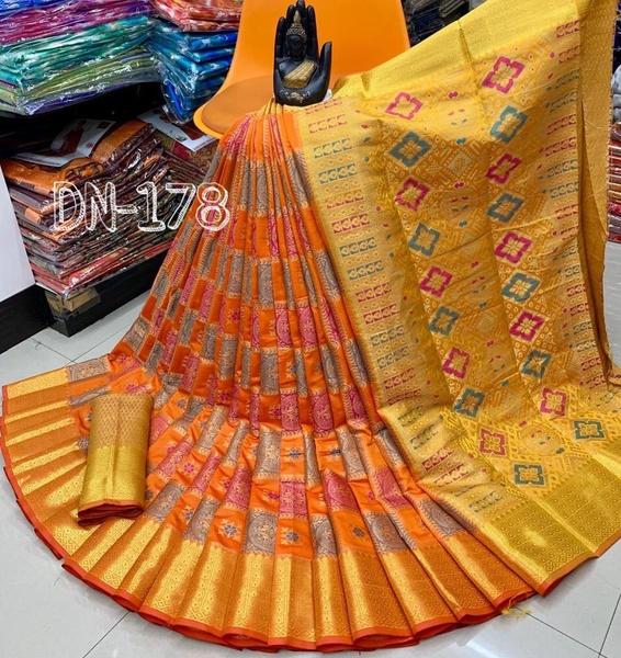 Benares silk picture