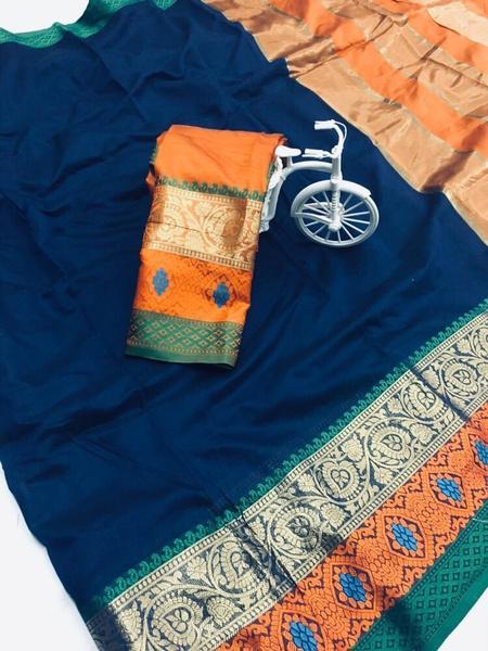 Richa - cotton silk picture