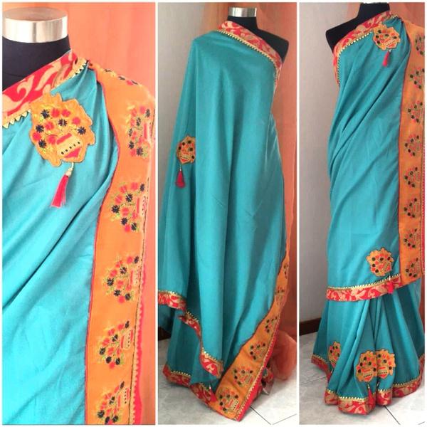 Silk saree - abhi picture