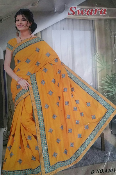 Swara silk picture