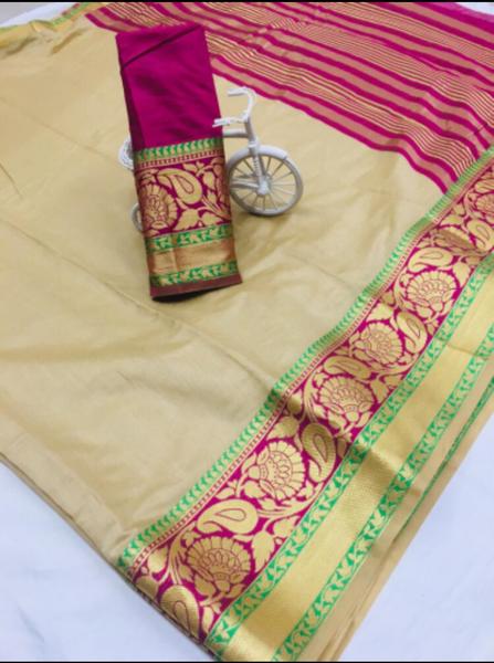 Cotton silk picture