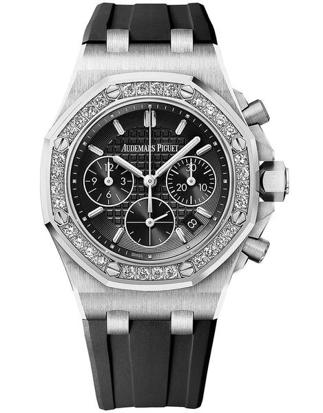 Audemars piguet royal oak offshore chronograph 37mm ladies watch picture