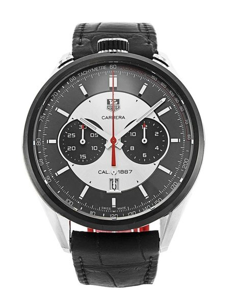 Tag heuer carrera jack heuer edition automatic chronograph men's watch picture