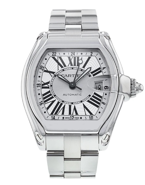 Cartier roadster mens watch picture