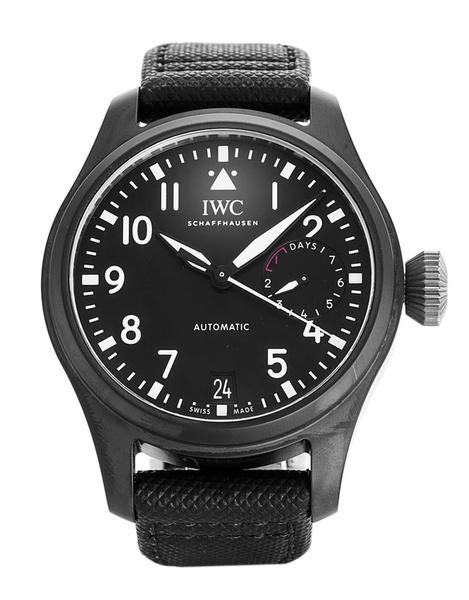 Iwc pilot's big pilot top gun automatic black men's watch picture