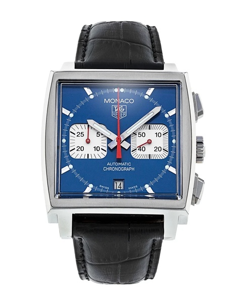 Tag heuer monaco chronograph men's watch picture