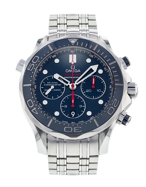 Omega seamaster co-axial chronograph men's watch picture