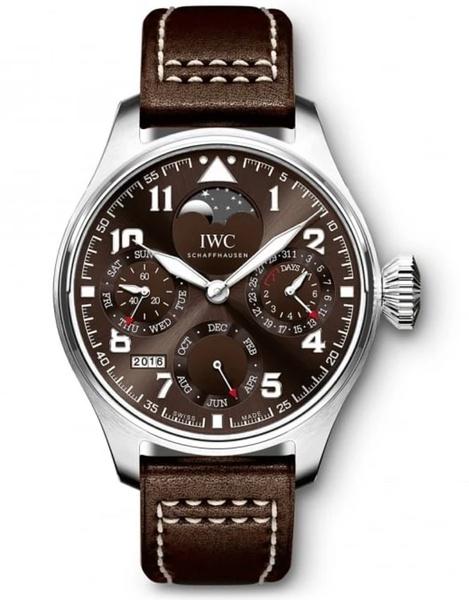 """Iwc big pilots calendar edition """"antoine de saint exupéry"""" mens watch picture"""