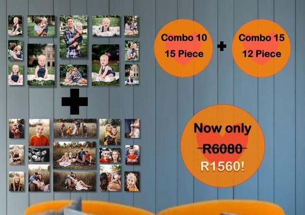 Dual combo - 27 prints for only r1560! picture