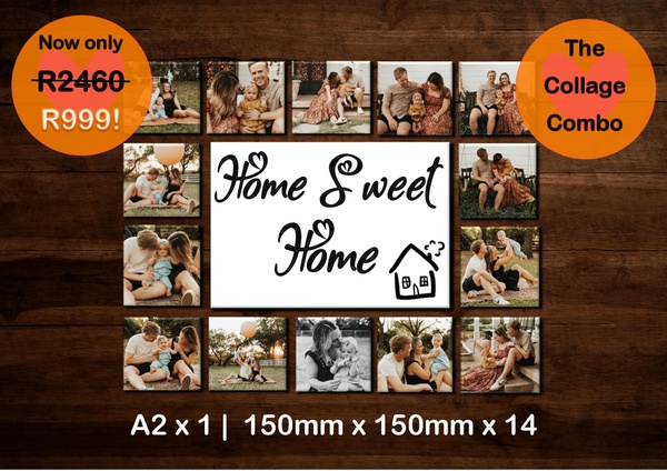 Collage combo - home sweet home picture