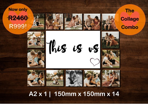 Collage combo - this is us picture