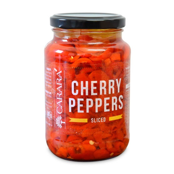 Red cherry peppers - sliced picture