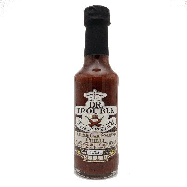 Dr trouble chilli sauce - double oak smoked picture