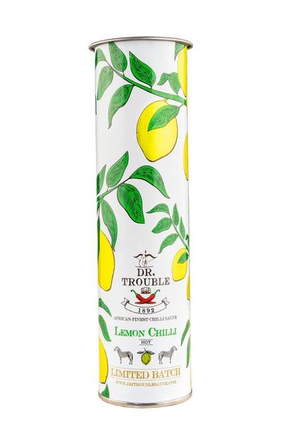 Dr trouble chilli sauce - lemon chilli - gift tube picture