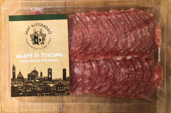 Salami di bergamo – traditional salami blended (70g sliced) picture