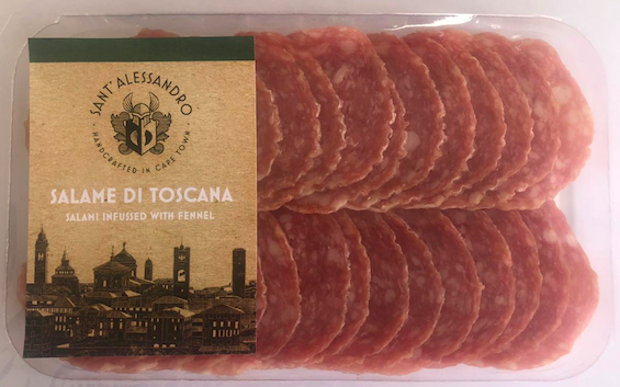Salami di toscana – infused with fennel (70g sliced) picture