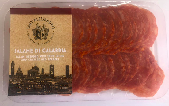 Salami di calabria - blended with zesty spices and crushed red peppers picture