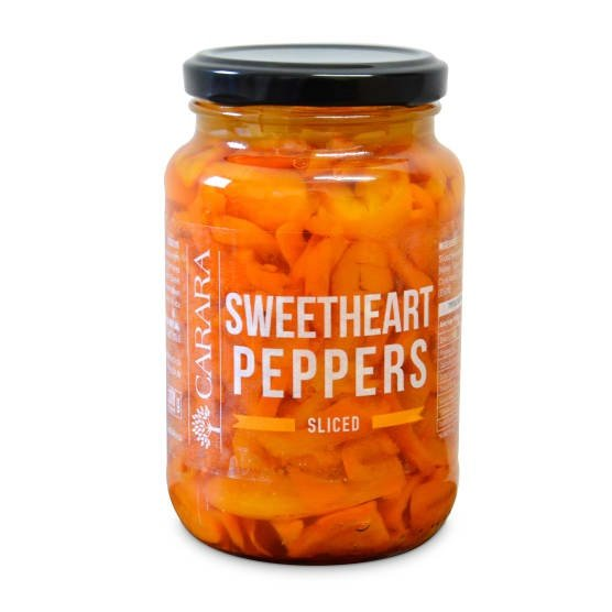 Sweetheart peppers - sliced picture