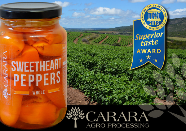 Sweetheart peppers - whole picture