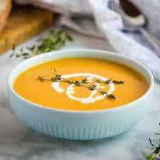 Butternut soup picture