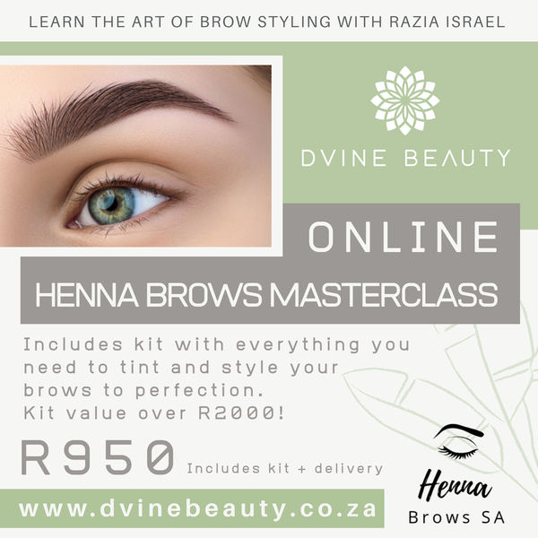 Online Henna Brows Masterclass + Kit picture