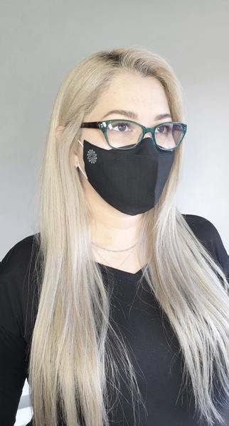 Cotton anti - fog mask picture