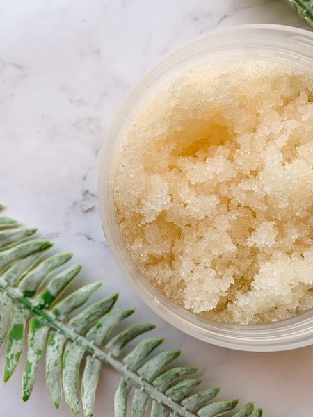 Sugar body scrub vanilla & honey picture