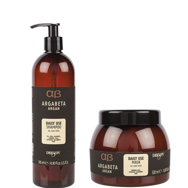Dikson daily shampoo & mask bundle - all hair types picture