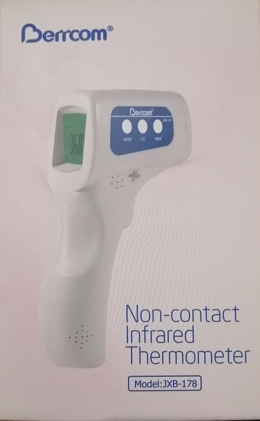 Berrcom model jxb - 178 non contact infrared thermometer picture