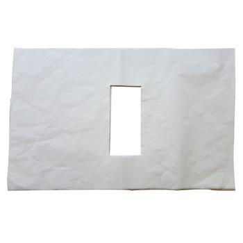 Face paper sheets with nose hole picture