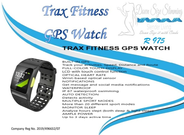 Trax fitness gps watch picture