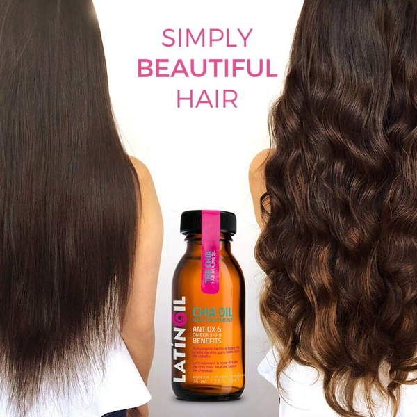 Latinoil chia oil hair treatment picture