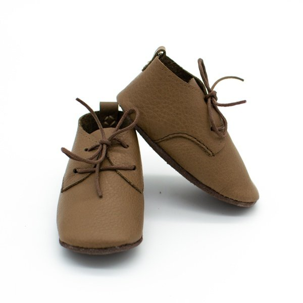 Assorted soft sole leather shoes picture