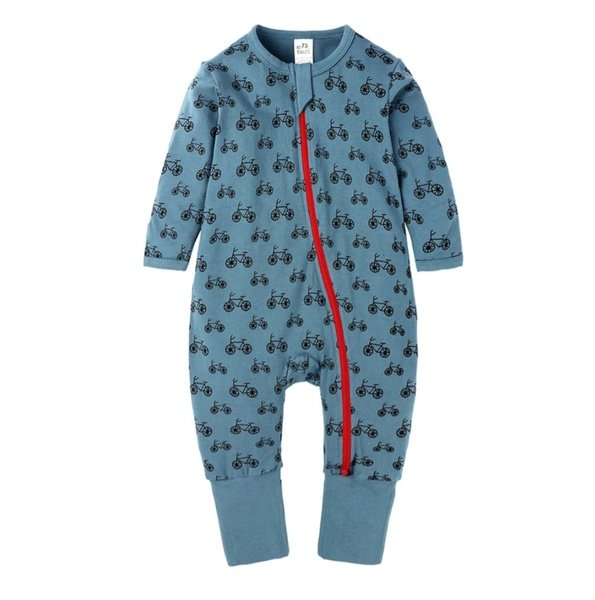 Bicycle baby grow picture