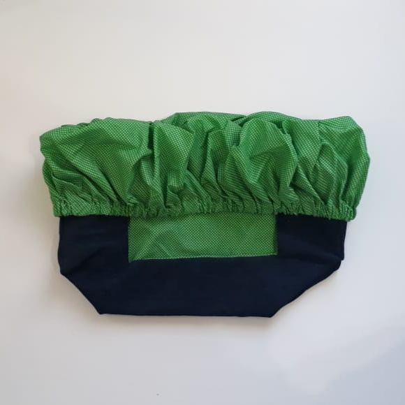 Trolley cover green pattern picture