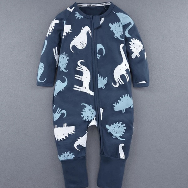Dinosaurs baby grow picture