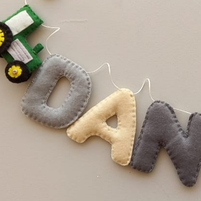 Custom name banner (garland) picture