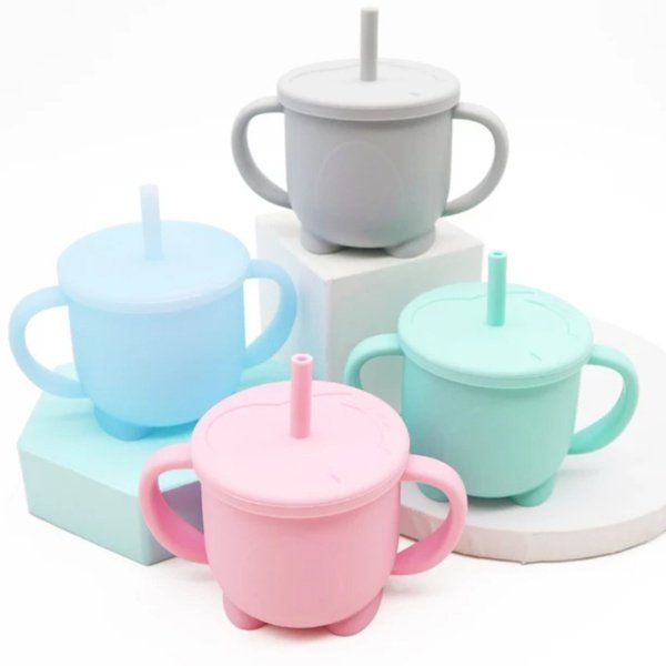Silicone sippy cups picture