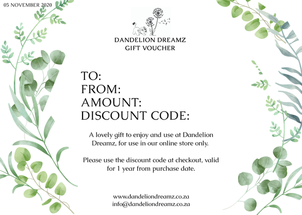Gift voucher picture