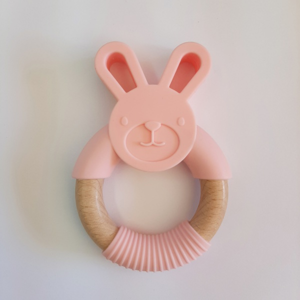 Bunny teether picture