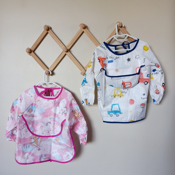 Assorted 2 in 1 bib and apron picture