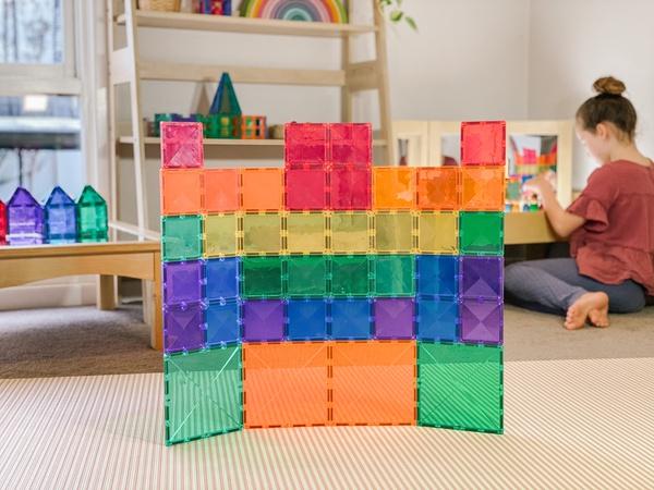 Connetix tiles 40 pieces (square pack) picture