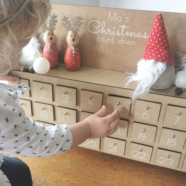 Christmas advent box picture