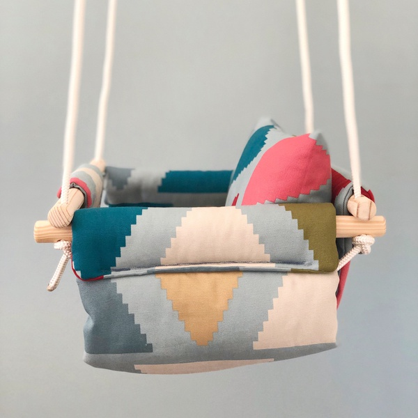 Assorted pattern swings picture