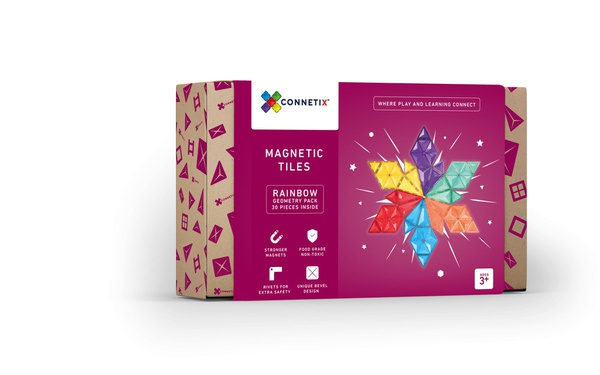 Connetix tiles 30 pc geometry pack picture